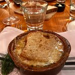 Excellent French onion soup