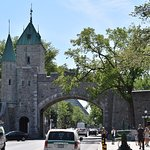 Quebec City Gate - One of Three