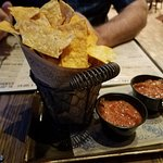 Chips and Salsa awesome!