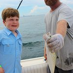 Thad - Thanks for holding the fish!!