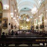 Interior de la iglesia, hermoso
