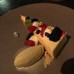 Mascarpone and red fruit mousse