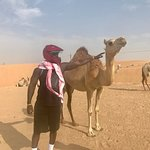 meeting the camels....