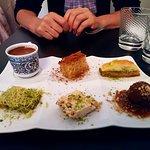 Café gourmand à la turque