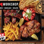 Chicken and Rib Combo R 149, every Monday & Thursday