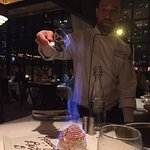 Be sure to save room for Baked Alaska flambe!