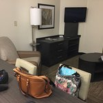 Living area at Candlewood
