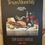 Texas Monthly cover of Terry Black's