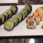 Great little sushi spot hidden don't miss it.