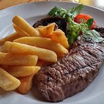 This sirloin looks lovely, but was rather tough ....