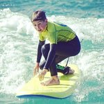 Surfing lesson available