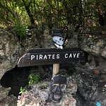 Pirate cave entrance