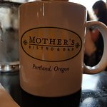 Mother's Bistro and Bar, coffee cup