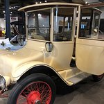 1916 Detroit Electric. You won't believe the living room seating!