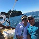 A beautiful afternoon sailing Bufflehead