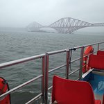 Approaching the Forth Bridge