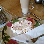 A Delicious White Chocolate and Raspberry Pavlova