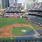 Inside of Petco Park, before game started.