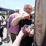 Master distiller Shane Baker