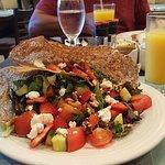 Galette Island Salad (so good)