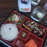 bento box with chicken katsu!!!