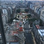 Vista desde  Palacio Barolo