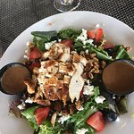 Grilled chircken salad with berries & blue cheese!