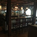 Interior bar at Alvah Stone