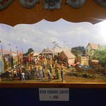 One of the many panoramas that used to travel, now at Circus World