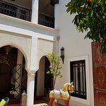 Courtyard of one of our great Riads