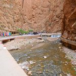 A gorge on the way to the Sahara