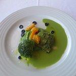 almoço peixe do rio + bife da vazia (dose partilhada do prato de peixe)