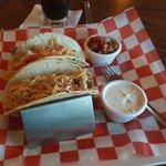 The fish taco's were fantastic.