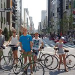 A stop in Ginza