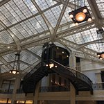 Skylights, chandeliers, and metalwork