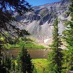Hike up to Blue Lake