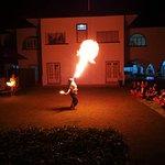 Campfire show.