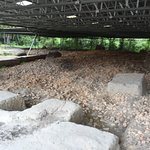 One of the excavation site