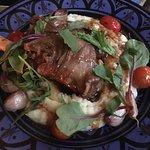 roasted lamb shank