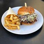 Lunch Special brisket burger