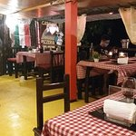 Interiors of Casamia italian restaurant