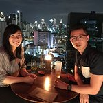 Date Night at Above Eleven. Good View.