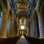 The nave at Durham