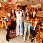 Our first 70s Disco Revival Party