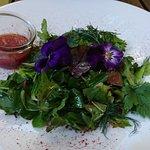 Салат в ресторане Аист