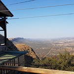 View from the top of the Cableway