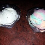 butter pecan ice cream and sherbet
