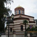 Boczny widok kościoła