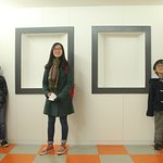 camera obscura is a place where size is relative and one can lose their perspective