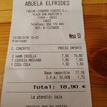 Photo de Restaurante Abuela Elfrides